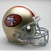 NFL Football Helmet - San Francisco 49ers Authentic Throwback 1964-95