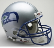NFL Football Helmet - Seattle Seahawks Authentic Throwback 1983-2001