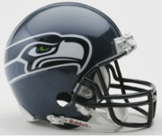 NFL Football Helmet -  Seattle Seahawks Mini Replica