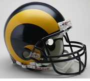 NFL Football Helmet - St. Louis Rams Authentic Throwback 1981-99