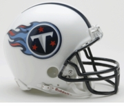 NFL Football Helmet -  Tennesse Titans Mini Replica