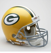 NFL Football Helmet - Throwback Authentic - Green Bay Packers - 1961-79
