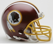 NFL Football Helmet -  Washington Redskins Min Replica