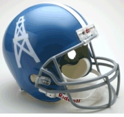 NFL Throwback Football Helmet -Tennessee Oilers Throwback 1960-62
