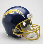 Replica Football Helmet - San Diego Chargers Throwback 1974-87