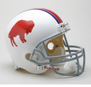 Replica Riddell Football Helmet - Buffalo Bills Throwback 1965-73