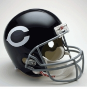 Replica Riddell Football Helmet - Chicago Bears Throwback 1962-73