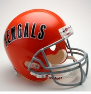 Replica Riddell Football Helmet - Cincinnati Bengals Throwback 1968-79