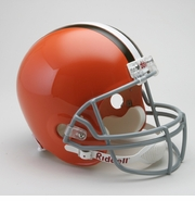 Replica Riddell Football Helmet - Cleveland Browns Throwback 1962-74