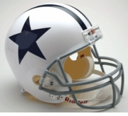 Replica Riddell Football Helmet - Dallas Cowboys Throwback 1960-63