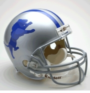 Replica Riddell Football Helmet - Detroit Lions Throwback 1962-68