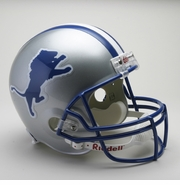 Replica Riddell Football Helmet - Detroit Lions Throwback 1983-2002