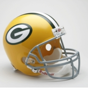 Replica Riddell Football Helmet - Green Bay Packers Throwback 1961-79