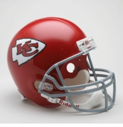 Replica Riddell Football Helmet - Kansas City Chiefs Throwback 1963-73