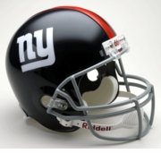 Replica Riddell Football Helmet - New York Giants Throwback 1961-74