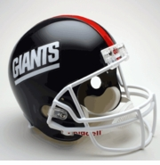 Replica Riddell Football Helmet - New York Giants Throwbacks 1981-99