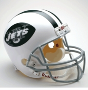 Replica Riddell Football Helmet - New York Jets Throwback 1965-77