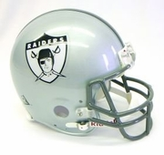 Replica Riddell Football Helmet - Oakland Raiders Throwback 1960-63
