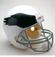 Replica Riddell Football Helmet - Philadelphia Eagles Throwback 1969-73