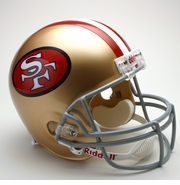 Replica Riddell Football Helmet - San Francisco 49ers Throwback 1964-95