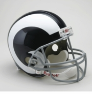 Replica Riddell Football Helmet - St. Louis Rams Throwback 1965-72