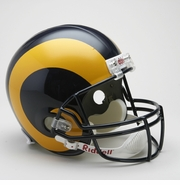 Replica Riddell Football Helmet - St. Louis Rams Throwback 1981-99