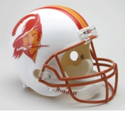 Replica Riddell Football Helmet - Tampa Bay Buccaneers Throwback 1976-96
