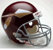 Replica Riddell Football Helmet - Washington Redskins Throwback 1965-69