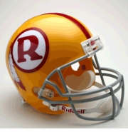 Replica Riddell Football Helmet - Washington Redskins Throwback 1969-71