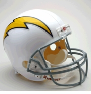 Replica Throwback Football Helmet - San Diego Chargers 1961-73