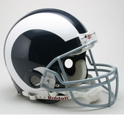 Riddell Authentic Throwback NFL Football Helmet - St. Louis Rams 1965-72