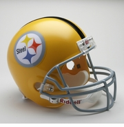 Riddell Football Helmet Replica - Pittsburgh Steelers Throwback 1962
