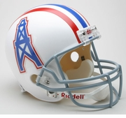 Riddell Replica Football Helmet - Tennessee Oilers Throwback 1975-80