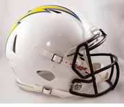 Riddell Revolution Speed Helmets - San Diego Chargers