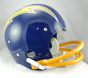 Riddell TK Classic Replica Helmet - Chargers 74-87