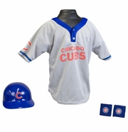 Youth Baseball Uniform Set - Chicago Cubs
