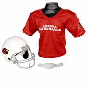 Youth Football Helmet & Jersey Set - Arizona Cardinals