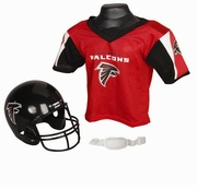 Youth Football Helmet & Jersey Set - Atlanta Falcons
