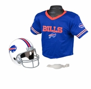 Youth Football Helmet & Jersey Set - Buffalo Bills