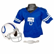 Youth Football Helmet & Jersey Set - Colts
