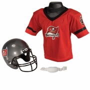Youth Football Helmet & Jersey Set - Tampa Bay Bucs