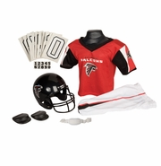 Youth Football Uniform and Helmet Set by Franklin<br><b> Atlanta Falcons </b>