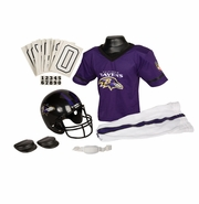 Youth Football Uniform and Helmet Set by Franklin<br><b> Baltimore Ravens </b>