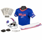 Youth Football Uniform and Helmet Set by Franklin<br><b> Buffalo Bills </b>