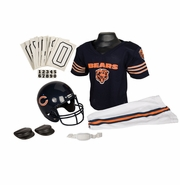 Youth Football Uniform and Helmet Set by Franklin<br><b> Chicago Bears </b>