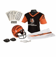 Youth Football Uniform and Helmet Set by Franklin<br><b> Cincinnati Bengals</b>