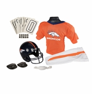 Youth Football Uniform and Helmet Set by Franklin<br><b> Denver Broncos </b>