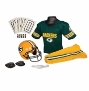 Youth Football Uniform and Helmet Set by Franklin<br><b> Green Bay Packers </b>