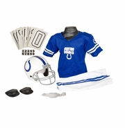 Youth Football Uniform and Helmet Set by Franklin<br><b> Indianapolis Colts </b>