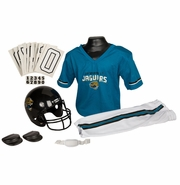 Youth Football Uniform and Helmet Set by Franklin<br><b> Jacksonville Jaguars </b>
